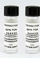 Trichloroacetic Acid TCA 30% Chemical Peel, 2-1 Dram Bottles Trichloroacetic Acid