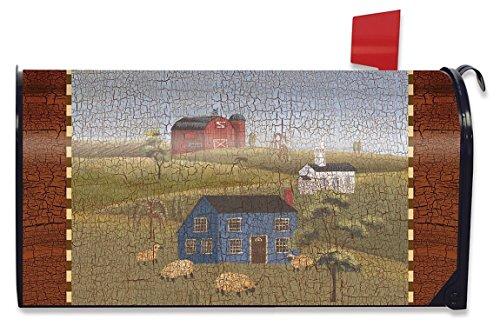 Family Mailbox (Briarwood Lane Faith Family Friends Spring Mailbox Cover Primitive Salt Box Houses Standard)