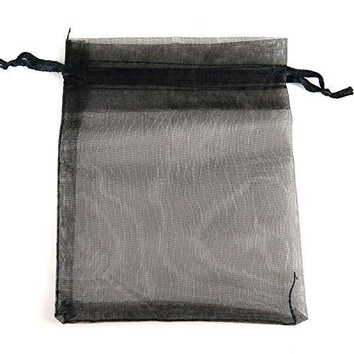 XLPD 100 Bolsas de Organza de 10 x 12 cm para Regalo, para ...