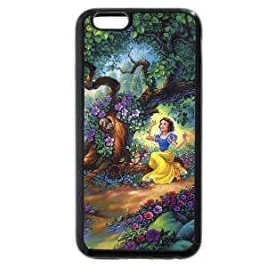 Customized Black Soft Hard(PC) Disney Cartoon Snow White For Case Iphone 5/5S Cover , Only fit For Case Iphone 5/5S Cover