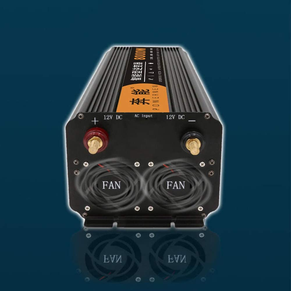 Kymzan 3200W 4000W 5000W 6000W 8000W 9000W12000W 15000W convertidor de Voltaje de Onda sinusoidal Pura de Coche-convertidor de Coche 12v//24v a 220v 230v convertidor de inversor,12V-12000W
