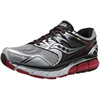 Saucony Men's Redeemer ISO Road Running Shoes (Silver/Black)