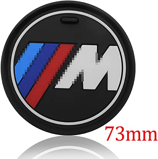 LIANGYUXIA 2pcs Car Interior Water Cup Bottle Holder Anti-slip Pad Mat car styling For bmw M Sticker X1 X3 X4 X5 X6 X7 e46 e90 f20 e60 e39 f10 f30 e28