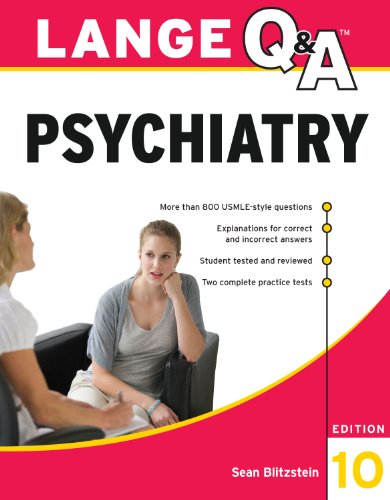 Lange Q&A Psychiatry, 10th Edition Pdf