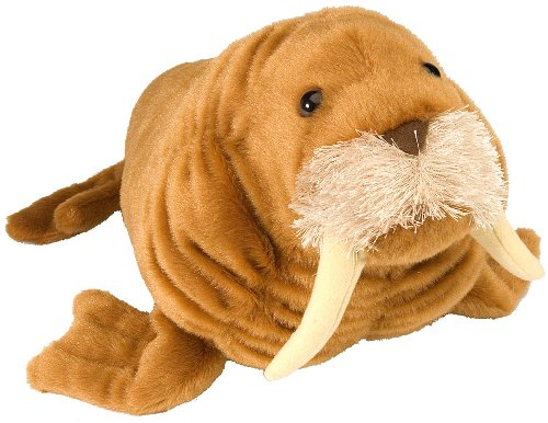Wild Republic Walrus Stuffed Animal, 15-Inch