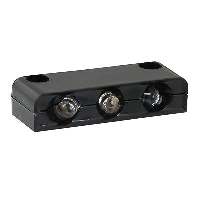 GG Grand General 87414 White Light 3-LED Step, Black Housing: Automotive