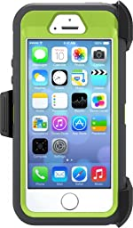 OtterBox DEFENDER SERIES Case for iPhone 5/5s/SE - Frustration Free Packaging - KEY LIME (GLOW GREEN/SLATE GREY)