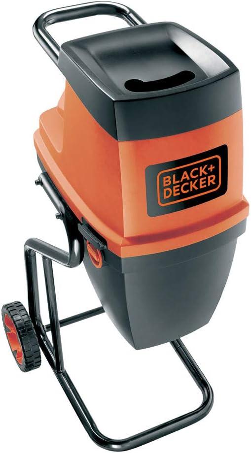 BLACK+DECKER GS2400-QS - Biotrituradora eléctrica, 2400 W,