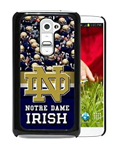 Popular LG G2 Case, Beautiful Designed Case With Notre Dame Irish Black LG G2 Cover