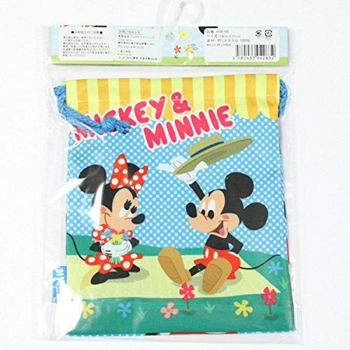 Mickey Mouse & Minnie Mouse ''Kinchaku, Small Bag'' FRK785