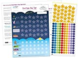 Good Night, Sleep Tight Reward Chart for 3 yrs+ - Award Winning - Create the Perfect Bedtime Routine for Your Child and Help Them Sleep At Night (17 x 12 inches)