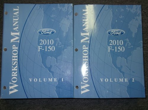 2010 Ford F-150 F150 Truck Service Shop Manual Set OEM (2 volume set)