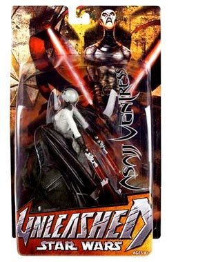 Star Wars: Revenge of the Sith Unleashed Asajj Ventress Action -