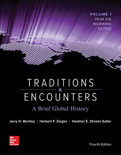 1259277275 - Traditions & Encounters: A Brief Global History Volume 1