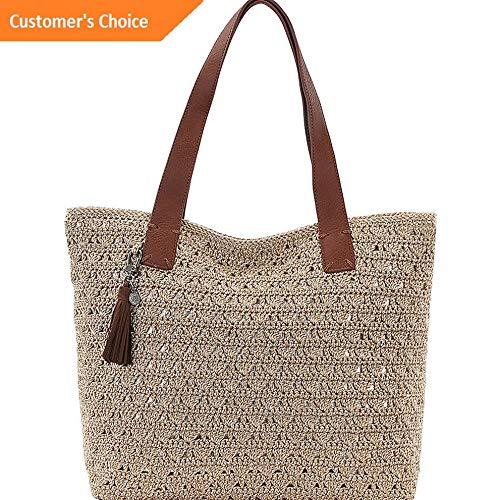 Amazon.com | Sandover The Sak Fairmont Crochet Tote 4 Colors ...