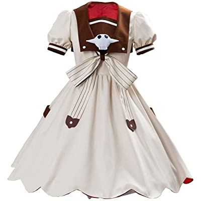 Xiao Maomi Toilet Bound Nene Yashiro Cosplay Costume Dress School Uniform Suit for Kids Girls Halloween Party Outfits: Clothing