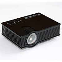 Projector, Coolbiz UC40+ HD 1080P Home Cinema Mini Projector HDMI AV USB VGA SD LED Projector