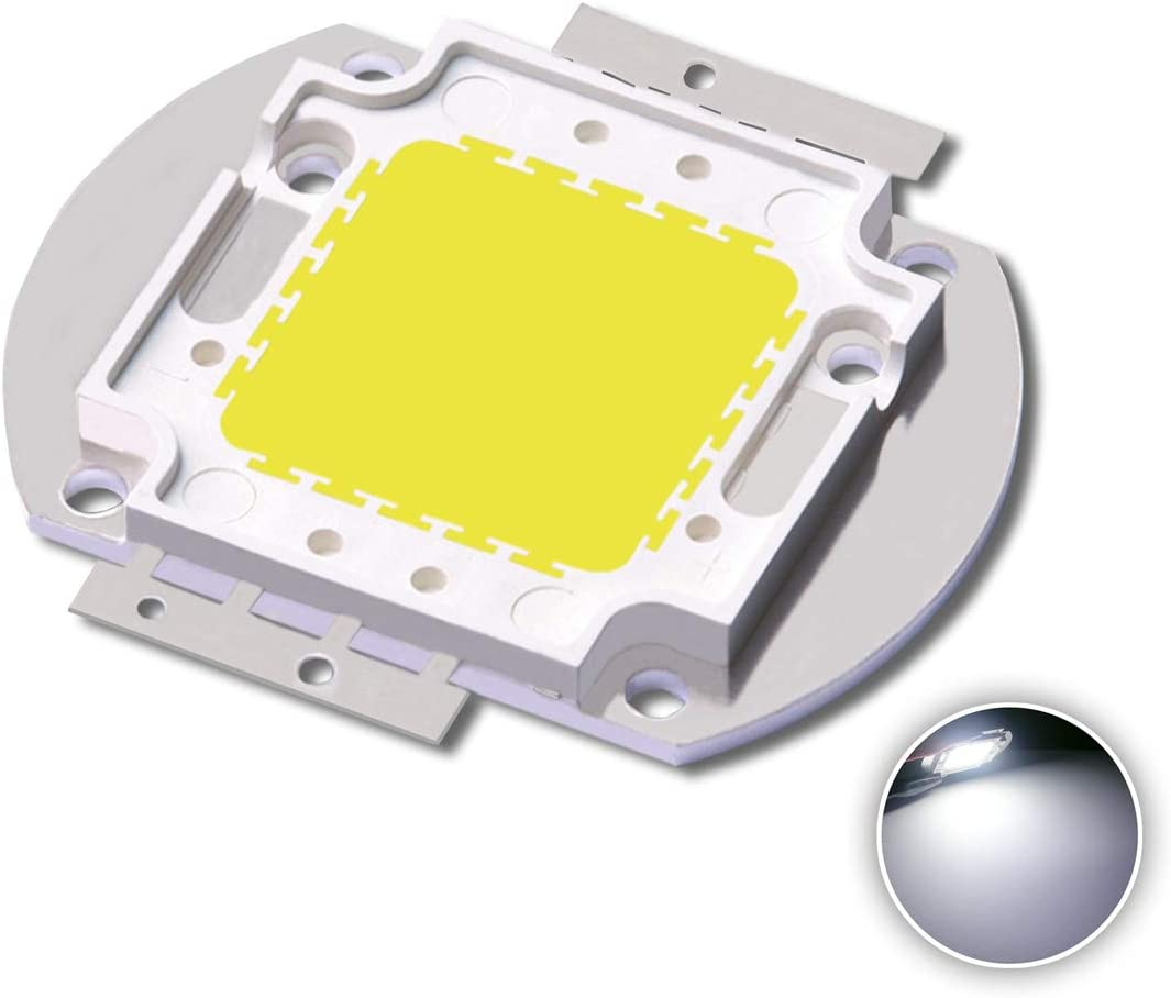 50W 100W 150W High Power LED COB SMD Chip Bulb Lamp Light DIY 110V//220V 120LM//W