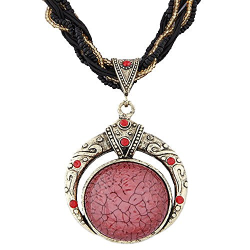 [Pop Wild Women National Style Bohemia Gem Diamond Beads Necklaces] (Chicago Halloween Costume Ideas)
