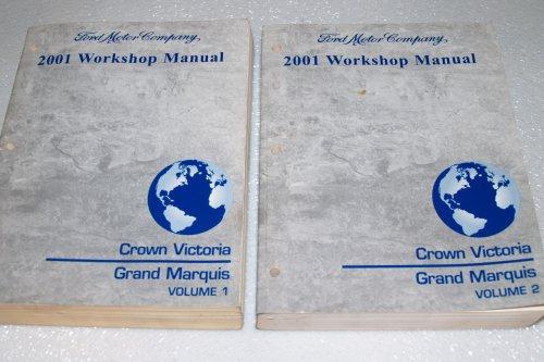 2001 Ford Crown Victoria, Mercury Grand Marquis Workshop Manual (2 Volume ()