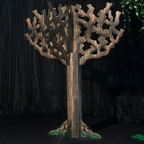 10 ft. Garden Tree Standup Photo Booth Prop Background Backdrop Party Decoration Decor Scene Setter Cardboard Cutout]()