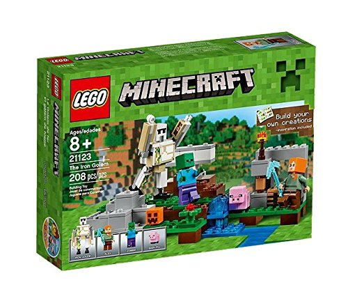 LEGO-Minecraft-Set-El-glem-de-hierro-multicolor-21123