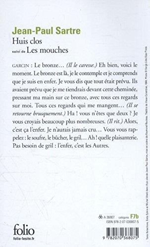 Huis Clos, suivi de Les Mouches (Folio) (French Edition ...