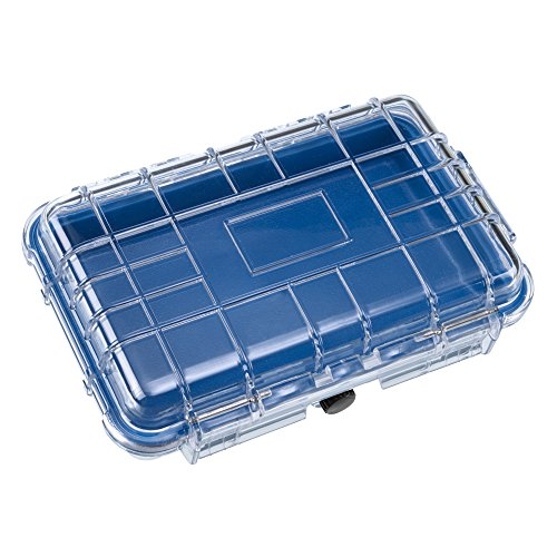 Lewis N. Clark Waterproof Hard Case, Large, Blue