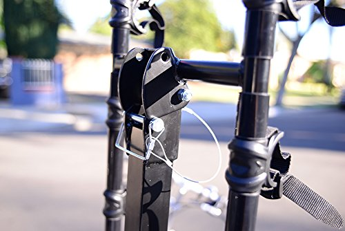 Allen Sports Deluxe 5-Bike Hitch Mount Rack with 2-Inch Receiver by Allen Sports (Image #5)