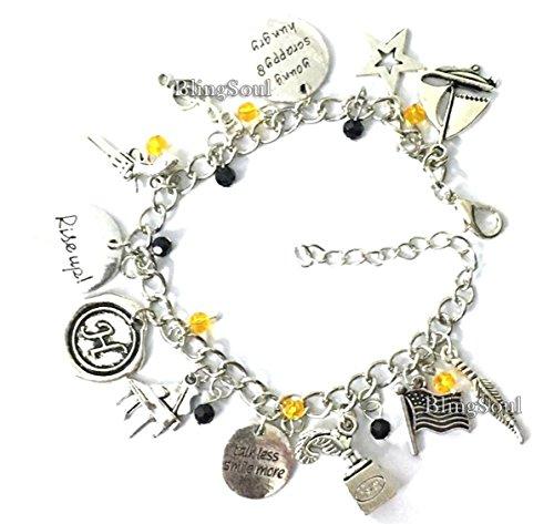 Broadway Musical Hamilton Jewelry - Alexander Charm Bracelet Rise up Friendship Gifts - American Lin-Manuel Miranda Chain Bangle Kids Boys Girls Costumes by BlingSoul (Image #2)