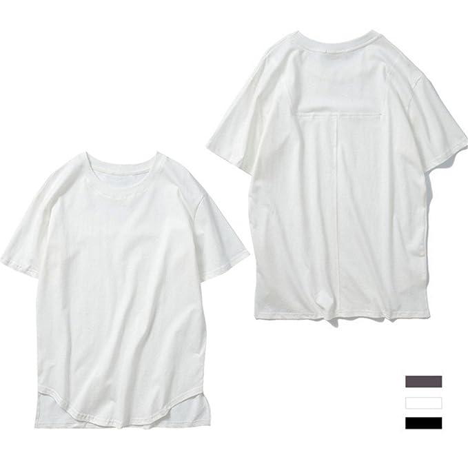 YAKOO Hombres Y Mujeres Camisetas Unisex, Manga Corta, Deportes De Ocio, Algodón Súper