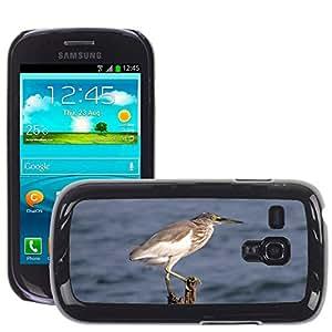 GoGoMobile Slim Protector Hard Shell Cover Case // M00123555 Indian Pond Heron Paddybird // Samsung Galaxy S3 MINI i8190
