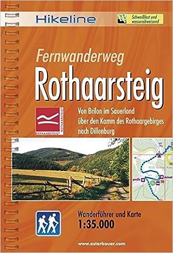 Rothaarsteig Karte.Hikeline Fernwanderweg Rothaarsteig 160 Km Von Brilon Im Sauerland