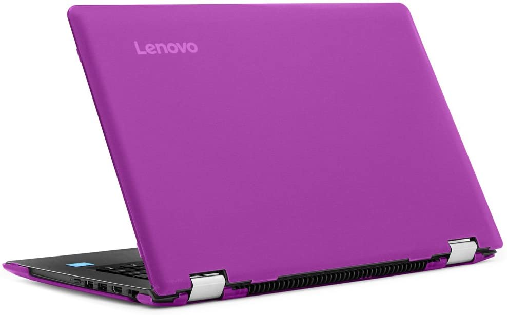 "mCover Hard Shell Case for New 14"" Lenovo Ideapad Flex 5 14 (5-1470, NOT Compatible with Older Flex 4-1470 Series) Laptop Computers (Flex 5-14 Purple)"