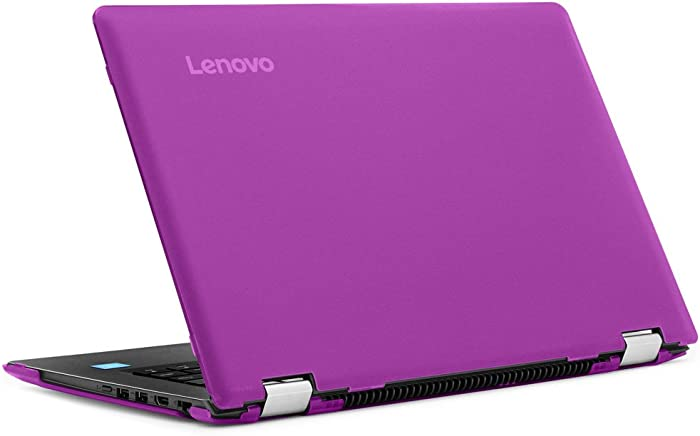 "mCover Hard Shell Case for New 14"" Lenovo Ideapad Flex 4 14 (4-1470/4-1435/4-1480, NOT Compatible with Newer Flex 5/6 Series) Laptop Computers (Purple)"