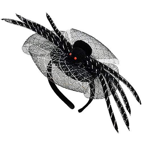 Spider Woman Halloween Make Up (Halloween Spider Headband for Girls)