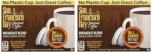 San Francisco Bay Breakfast Blend 24 One Cups for Keurig K-Cup Brewers