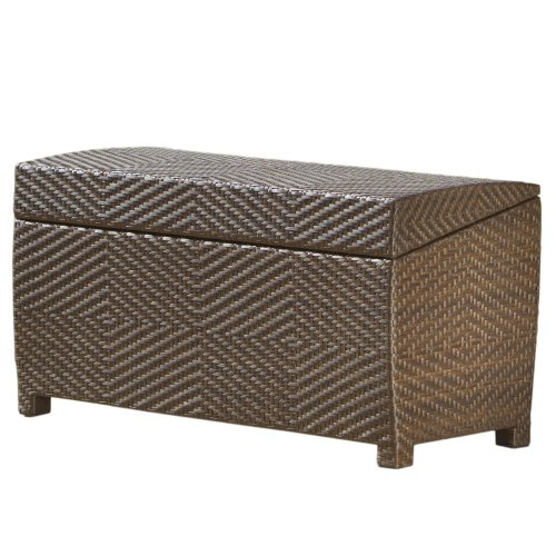 Best Selling Outdoor Wicker Storage Ottoman by Best-selling
