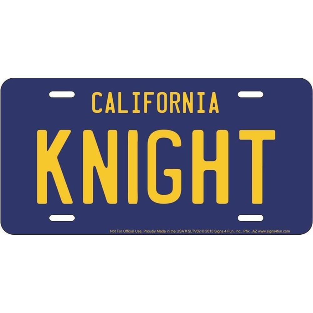 Signs 4/Fun Knight Rider targa