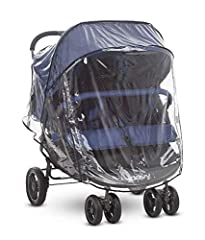 The Jody ScooterX2 Rain Cover helps keep your children warm and dry while protecting them from the rain, snow and wind. It's easy to install and ventilated for breathability. It protects while providing your children with a clear view of thei...