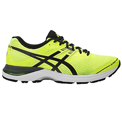 00 Asics Gel Pulse 9 Scarpe Uomo Safety Yellow/Black/Carbon