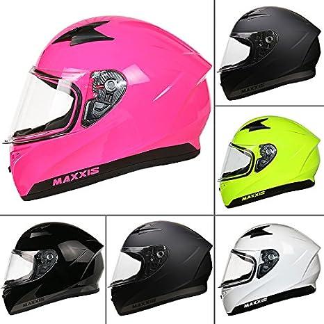 Leopard LEO-813 Full Face Motorbike Motorcycle Crash Helmet DOT & ECE 22.05 Approved - #01 Matt Black M (57-58cm) Touch Global Ltd