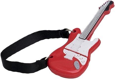 Tech One Tech - Memoria USB 16 GB, diseño Guitarra roja: Amazon.es ...
