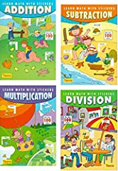 A fun book where playing with stickers helps you become a math whiz! A playful new concept for children 6 to 9. The idea is simple and original: the colorful pictures are all unfinished. In order to finish them, children must solve addition, ...