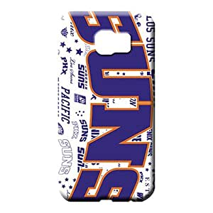 samsung galaxy s6 High Eco-friendly Packaging pattern mobile phone carrying cases phoenix suns nba basketball