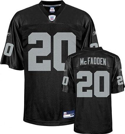 Amazon.com : Reebok Oakland Raiders Darren McFadden Youth Replica ...