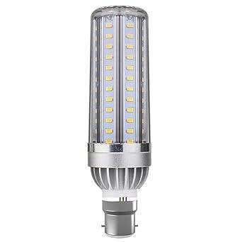 Glamouro Bombillas LED de maíz de 50 W B22 6500K Bombillas LED brillantes para el hogar