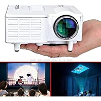 Ewin Mini 1080P HD Multimedia LED Projector Home Cinema Theater AV TV VGA HDMI USB SD