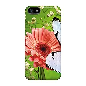 High-quality Durable Protection Case For Sam Sung Galaxy S5 Mini Cover (butterfly)
