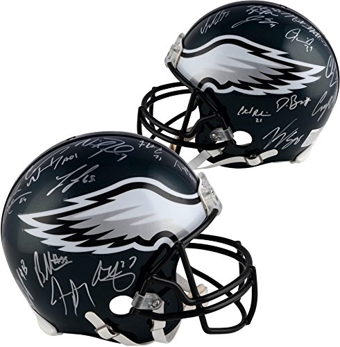 Philadelphia Eagles Super Bowl LII Champions Autographed Riddell Pro-Line Helmet with Multiple Signatures - Fanatics Authentic Certified ()